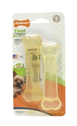 NYLABONE FLEXICHEW  1 CHICKEN /1 ORIGINAL BLISTER CARD 2PK