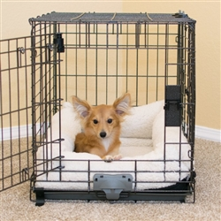 Deluxe Bolster Crate Pad