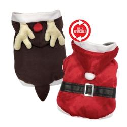 Reversible Santa / Reindeer Suit