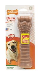 NYLABONE DURACHEW TEXTURED BACON BLISTER CARD SOUPER