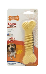 NYLABONE DURACHEW TEXTURED CHICKEN BLISTER CARD SOUPER