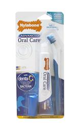 NYLABONE ADVANCED ORAL CARE SENIOR DOG DENTAL KIT SMALL DOG