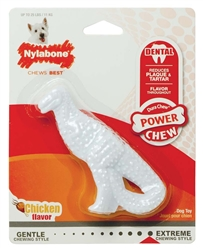 NYLABONE DURA CHEW DENTAL DINO CHICKEN FLAVOR REGULAR