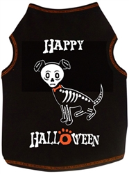 Happy Halloween Skeleton - Tank - Black