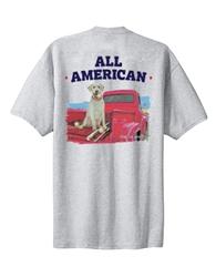 All American unisex tee