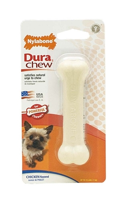 NYLABONE DURACHEW CHICKEN BLISTER CARD WOLF
