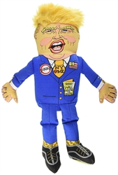 Fuzzu Presidential Parody Toy Donald Trump - Dog - Small Dog- Cat - Jumbo