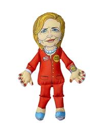 Fuzzu Presidential Parody Toy Hillary Clinton - Dog - Cat - Jumbo