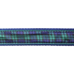 "Black Watch Plaid - 3/4"" Collars, Leashes and Harnesses"