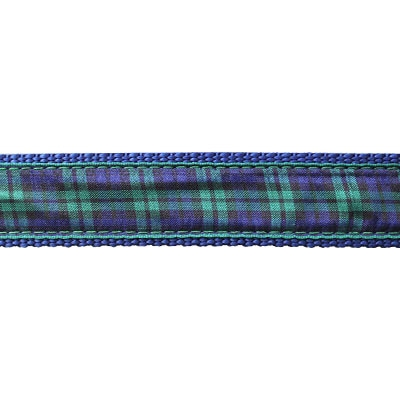 """Black Watch Plaid - 3/4"""" Collars, Leashes and Harnesses"""