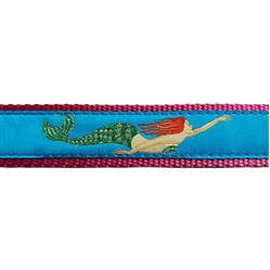 "Mermaid - 3/4"" Collars, Leashes and Harnesses"