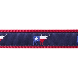 """Texas Longhorn - 1.25"""" Collars, Leashes and Harnesses"""