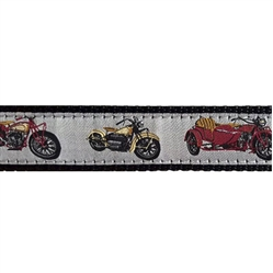 "Motorcycle - 1.25"" Collars, Leashes and Harnesses"