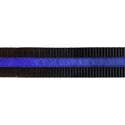 "Thin Blue Line - 1.25"" Collars, Leashes and Harnesses"