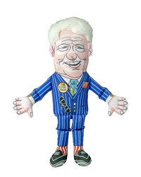 Fuzzu Presidential Parody Toy Bill Clinton - Dog - Cat - Jumbo
