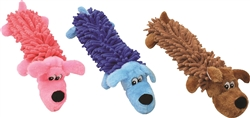 "Mammoth Pet Shagbo Medium 14"" Dog Toy Assorted Colors"