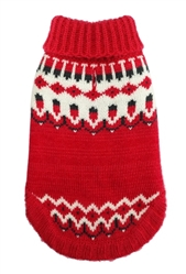 Icelandic Sweater - RED