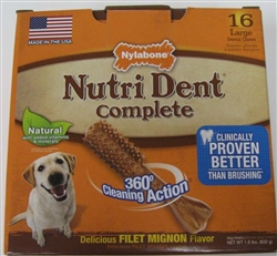 NUTRIDENT COMPLETE ADULT FILET MIGNON SMALL 10CT