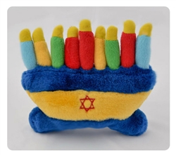 Dog Toy - Menorah