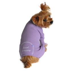 Pastel Lilac Sweet Dreams Thermal Pajamas