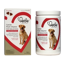 Verde Pet Health Canine Multi-Vitamin Tasty Herbal Chews