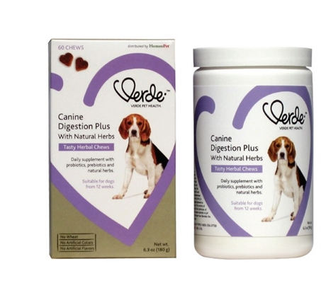 Verde Pet Health Canine Digestive Plus Tasty Herbal Chews