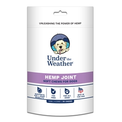 Hemp Joint Soft Chew for Dogs - 30 chews per pouch by Under the Weather