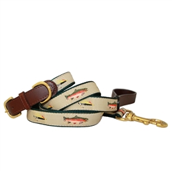 Fly Fishing American Traditions Collection Collars & Leashes
