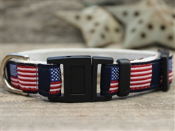 Stars n Stripes Cat Collar