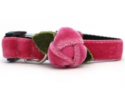 Rosebud Pink Cat Collar
