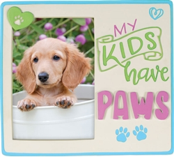 Pawsitive Photo Frame - My Kids Have Paws