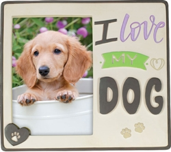 Pawsitive Photo Frame - I Love My Dog