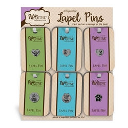 Pawsitive Lapel Pin Assortment