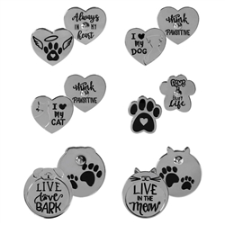 Pawsitive Lapel Pin Assortment Refill