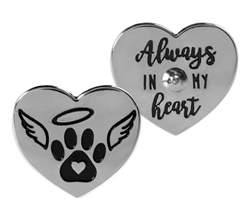 Pawsitive Lapel Pin – Always in My Heart