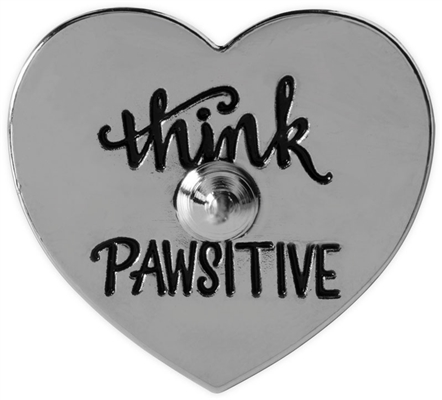Pawsitive Lapel Pin - I Love My Dog