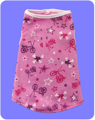 XXS Pink Bicycle Tank (for Teacups)
