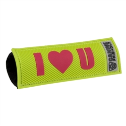 Bark Notes-I Love You-Lime Green