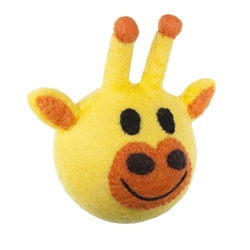 Wooly Wonkz Safari Toy - Giraffe