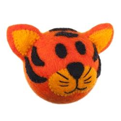 Wooly Wonkz Safari Toy Tiger