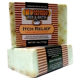Itch Relief for Hot Spots & Grass Allergies w/ Rosemary, Lavendar, Eucalyptus and Oregano