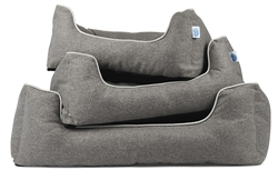 Loft Bolster Dog Bed by Messy Mutts
