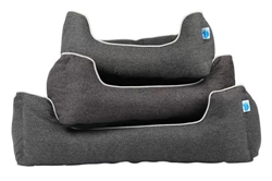 Studio Bolster Dog Bed by Messy Mutts