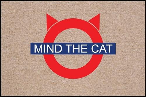 SALE - Mind the Cat Doormat