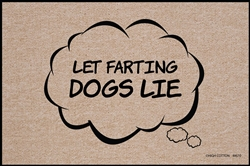 SALE - Let Farting Dogs Lie Doormat