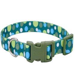 Green Dot - Attire Styles Nylon Collars & Leads
