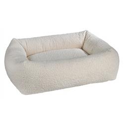 Dutchie Bed Ivory Sheepskin Microvelvet