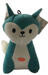 Chevron Fox Toy - Blue