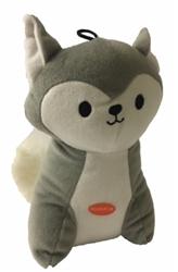 Chevron Fox Toy - Silver