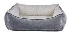 Oslo Ortho Bed Pumice Microvelvet (Ivory Sheepskin)
